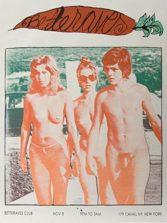 """""""甜菜俱乐部:艾米丽·桑得布拉得与玛格丽特·李"""", 2009年,纽约179 Canal"""