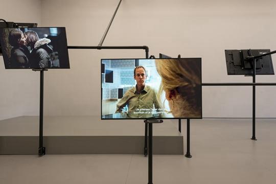 """""""常识""""展览现场,2014年,阿姆斯特丹De Appel艺术中心"""