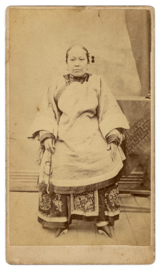 Thomas Child, Peking, 1870s-80s, 10.5 x 6.3 cm Courtesy Ge Lei