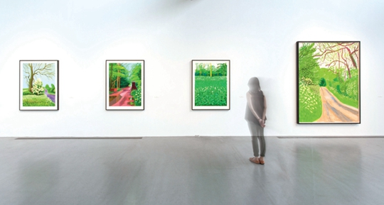 Exhibition view, 2015 Courtesy Pace Beijing PHOTO: Wang Xiang