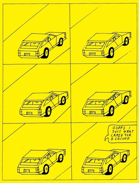 Paper Rad画册《Paper Rad、BJ和狗》中刊登的插画作品
