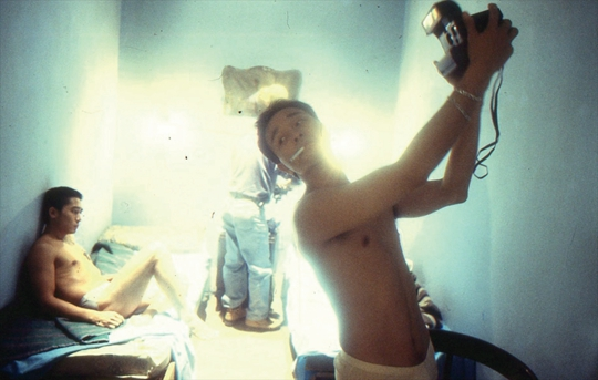 Christopher Doyle, Production still from the set of Wong Kar-Wai's Happy Together