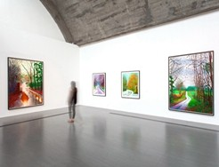 David Hockney Installation View_Photograph by Wang 188