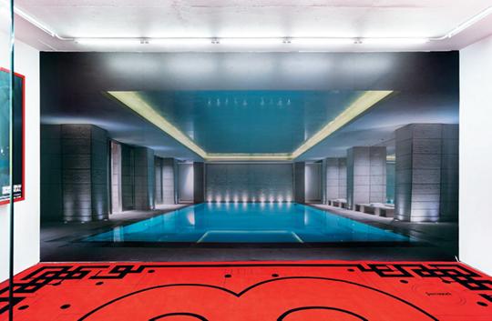 《第三届山寨双年展:汉密尔顿天台100号》,2014年,伦敦弗里兹博览会