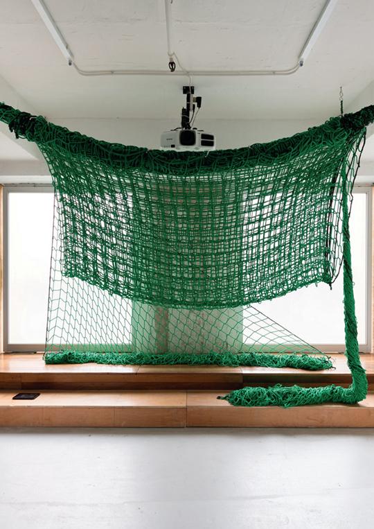 KERNEL,《输入、麻绳结、锚》 2 013年,雕塑及空间介入,尺寸可变