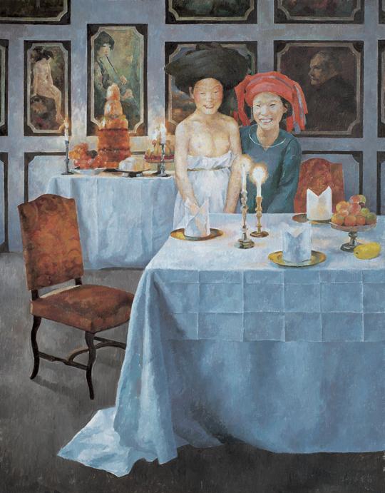 《生日 No.1》,2008年,布面油彩,230×180 厘米
