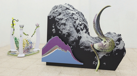 """展览现场,""""生命更新"""",2015年,里斯本美术馆"""