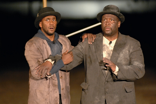 Waiting for Godot in New Orleans, 2007, performance PHOTO: Donn Young Courtesy Creative Time