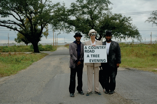 Waiting for Godot in New Orleans, 2007, performance Courtesy Creative Time