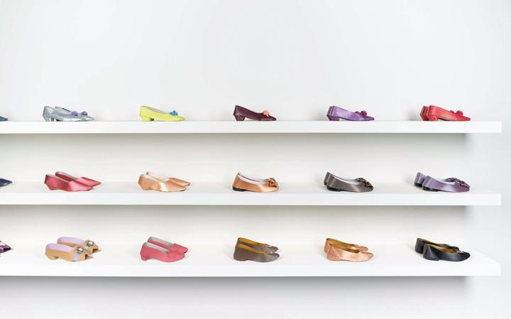 彩色纸扎女鞋
