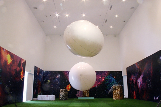 View of Double Fly Egg-crushing Tournament, 2015, Today Art Museum, Beijing