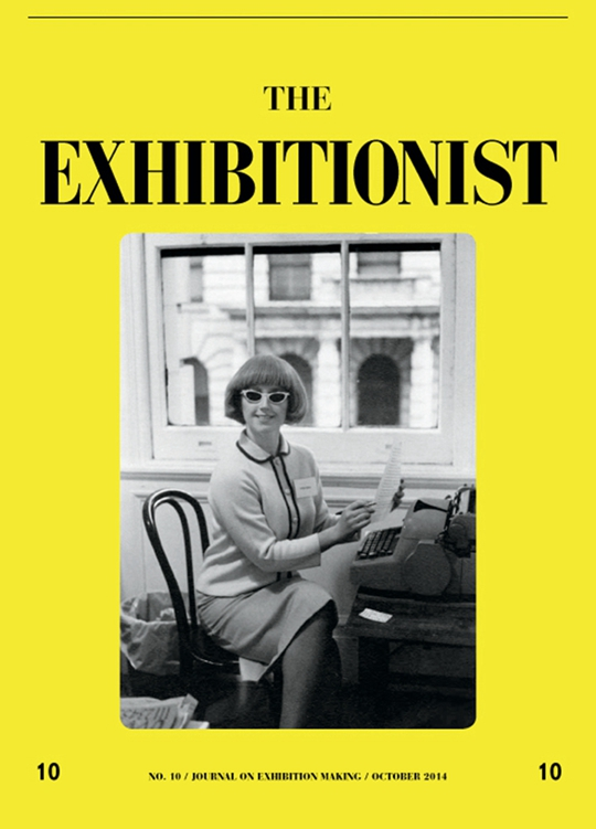 《展览主义者》封面