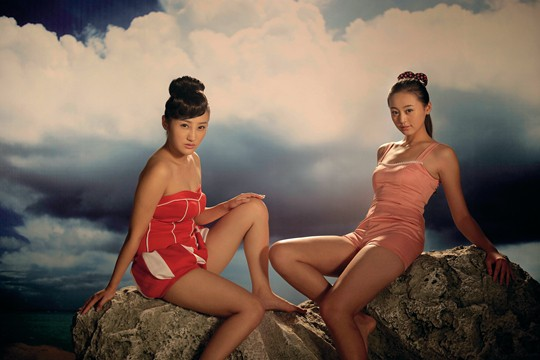 Yang Fudong, The Coloured Sky: New Women II 2014, photograph, color inkjet, 120 x 180 cm Courtesy ShanghART Gallery and the artist