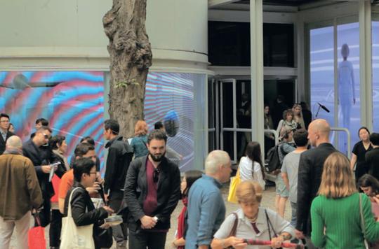 韩国国家馆展览现场
