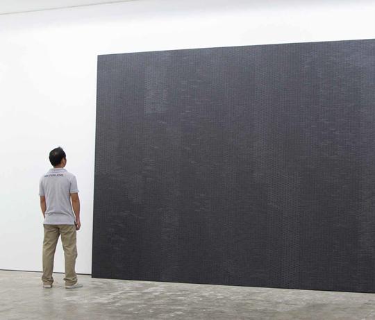 《无题》 2014年 布面丙烯 274 × 488 厘米