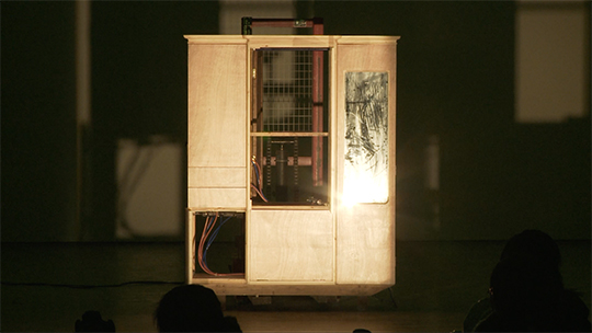 Wang Jianwei, Time - Theater – Exhibition, 2009, multi-media theater