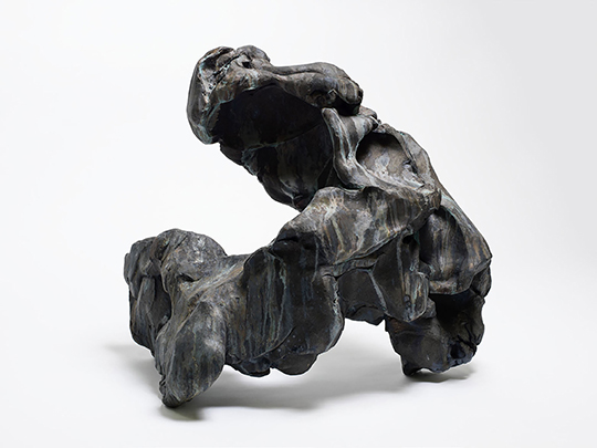 隋建国, 《盲者》(12号), 2014年, 铸铜, 尺寸可变