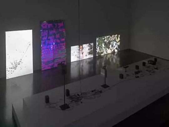 "Exhibition view, ""Real Humanss,"" Kunsthalle Düsseldorf, 2015"