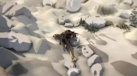《一些想起你的东西》,2015年,动画拟像、循环播放