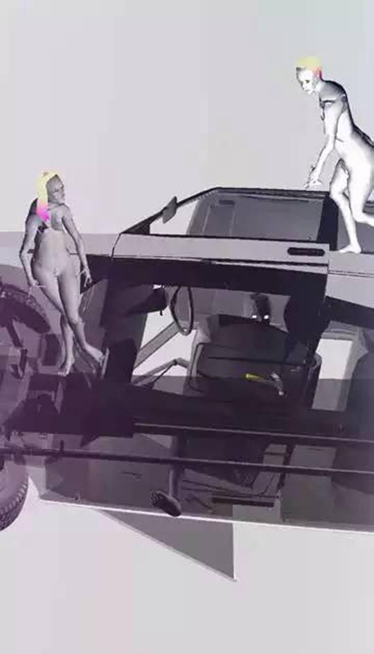 《木瓜尝起来很完美》,2011年,动画拟像、循环播放