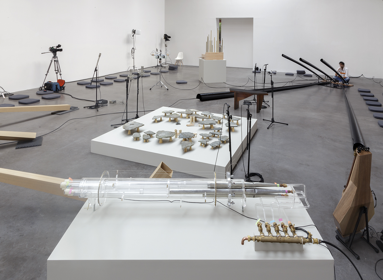 The Reverse Sessions, Installation and performance , December 2014, Courtesy Kurimanzutto Gallery