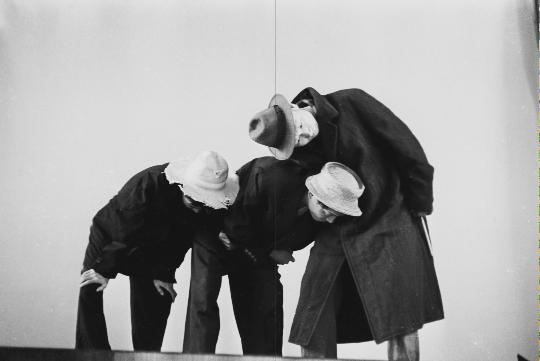 Chiu Kang-Chien, Waiting for Godot, 1966, theatrical still, courtesy of Chuang Ling