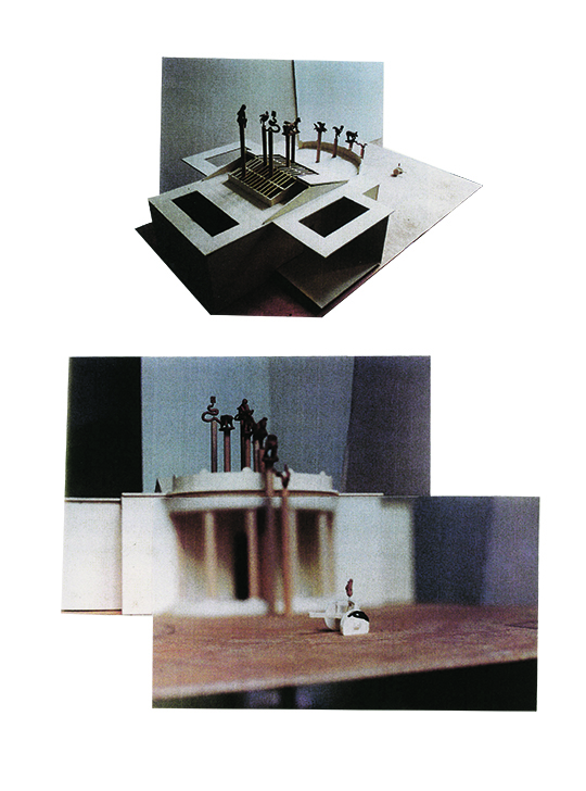 Huang Yong Ping, One Man, Nine Animals, 1999, Maquette, Courtesy MOMA Museum, of Contemporary Art Chengdu