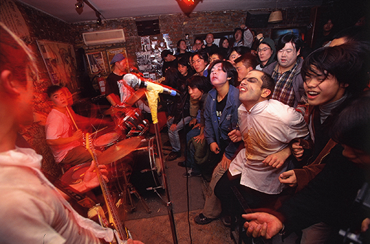 The Halloween party at Scream Bar, 1998, PHOTO: Wang Di