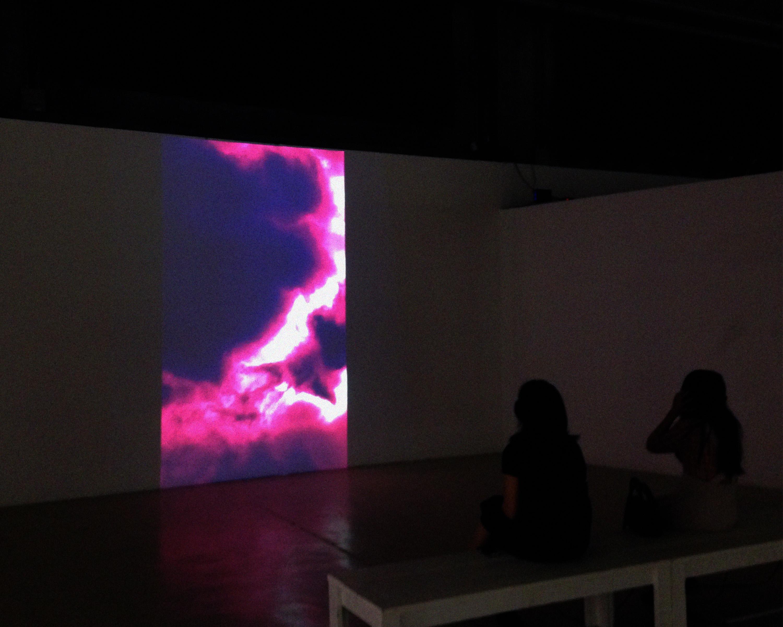 Shi Zheng, Nimbus (2015), audio-visual. Courtesy the artist