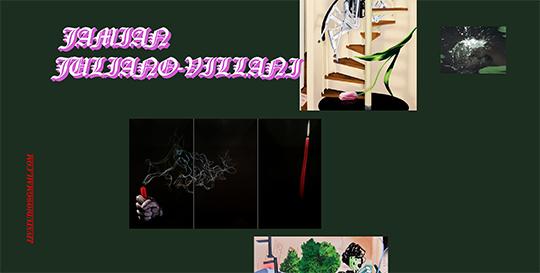 Screenshot of  Jamian Juliano-Villani's website