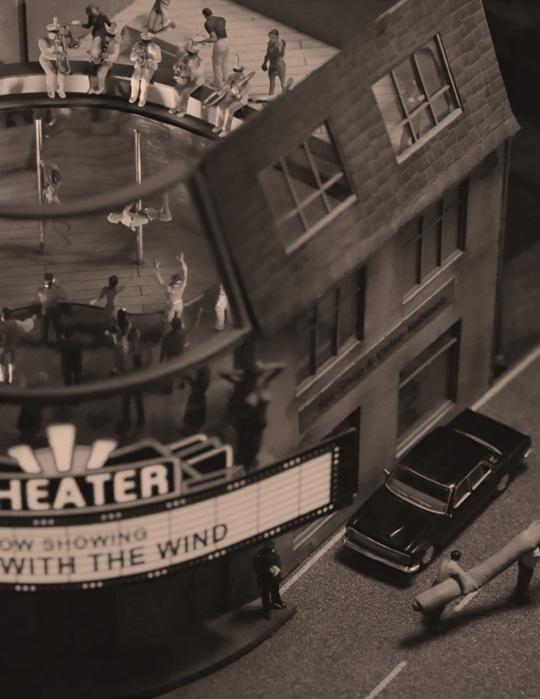 曹斐,《La Town-剧院》,2014年,视频,42分钟