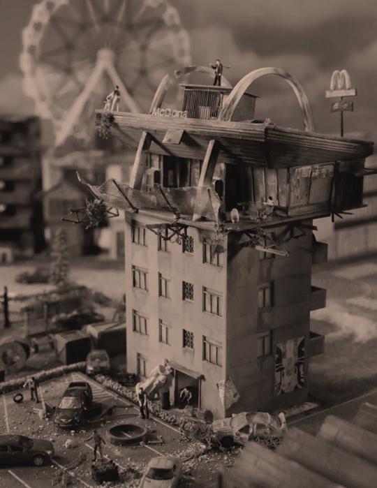 曹斐,《La Town-怀特街》,2014年,单频录像,42分钟