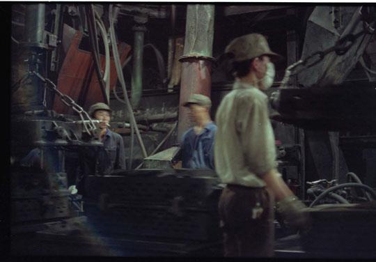 庄辉工作的洛阳东方红拖拉机厂造型车间