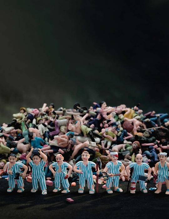 练东亚 ,《梦旅》, 2010年, 摄影 , 54 × 100 厘米
