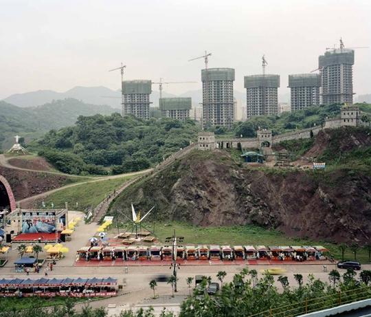 王博,《异质景观 No. 2》,2009年,摄影,101.6×127厘米