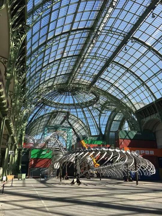 Vue de l'exposition « L'Empire »   Photo : He Jing