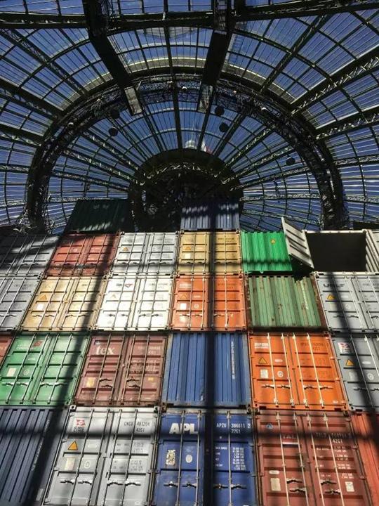 L'Empire (Détail de l'installation) Photo: He Jing