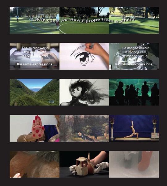《天气预报》,2016年,三频录像,12分48秒